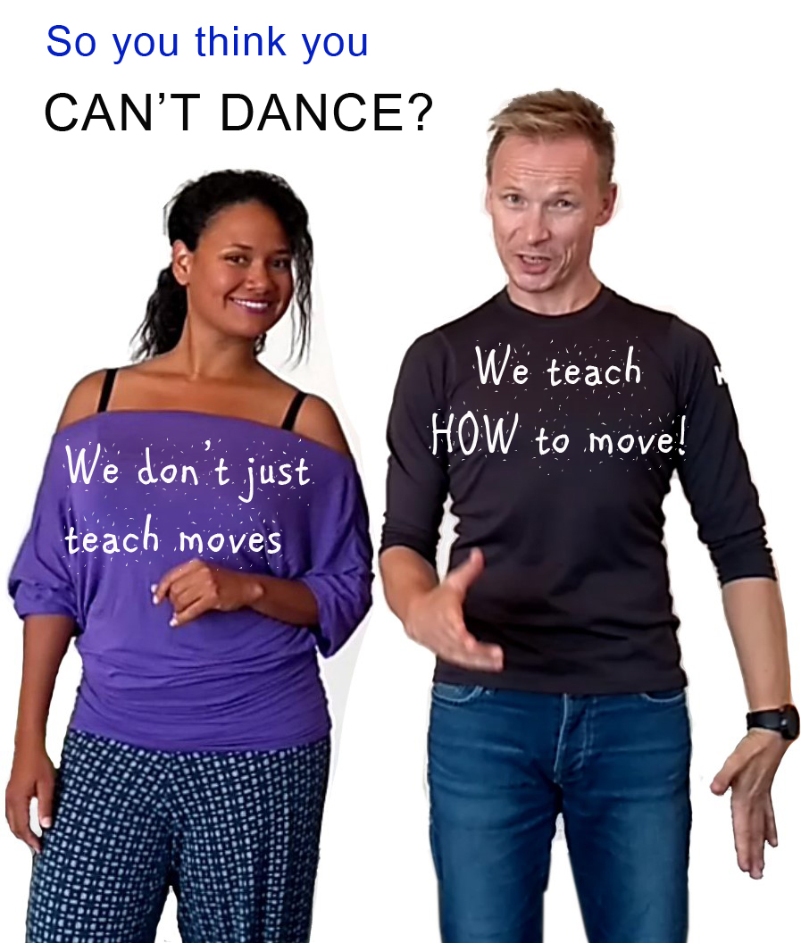 Elka (Venezuela) and Erik (Norway) represent the born natural dancer and the guy with zero talent who became a professional world championship level dancer. Erik may be the most experienced teacher in Norway. He has been teaching almost 5000 group classes and 1500 private lessons the last 4 years.